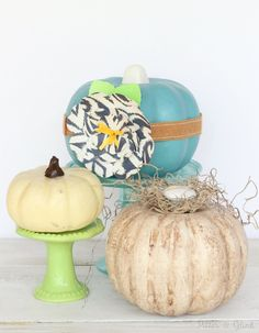 Buying fall decor from the dollar store is a budget friendly way to decorate for the season, but many of the decor items can look, well, cheap.  It's easy to ta…