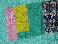 Love the texture and colour blocks // Nuria Mora