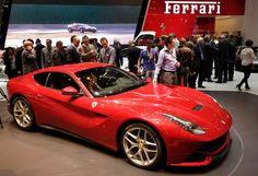 Ferrari F12 Berlinetta car - DENIS BALIBOUSE/Newscom/Reuters