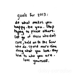 Time to revisit some goals!