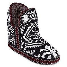 jcpenney | MUK LUKS® Amira Short Boot Slippers