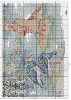 """Photo from album """"Cross Stitch Collection 220 март on Yandex. Cross Stitch Boards, Cross Stitch Needles, Cross Stitch Kits, Cross Stitch Designs, Cross Stitch Patterns, Elephant Cross Stitch, Cross Stitch Animals, Cross Stitching, Cross Stitch Embroidery"""