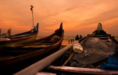 "Kochi - Kerala, India   ""Between Boats and Tides"" by Nirmal Kumar, via 500px."