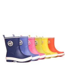 락피쉬 로고와 우산 장식이 탈부착 가능한 형형색색 #락피쉬 몰리 키즈 레인부츠 #엘롯데#rockfish #rainboots