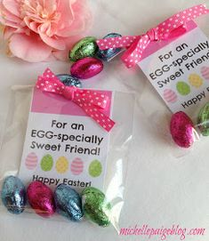 michelle paige: Easter Favors for Teachers, Friends and Family Easter Gift Baskets, Easter Hampers, Employee Gifts, Easter Treats, Easter Desserts, Easter Party, Gifts For Coworkers, Diy Gifts, Blog