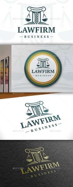 Law  - Logo Design Template Vector #logotype Download it here: http://graphicriver.net/item/law-logo-template/11411728?s_rank=1487?ref=nesto