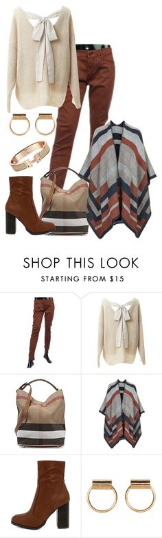 """~~ CONGNAC ~~"" by queenofthegypsies ❤ liked on Polyvore featuring Mother, Relaxfeel, Burberry, Topshop and Bamboo"