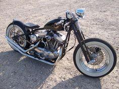 LED SLED CUSTOMS 2010 - crossbone bobber 883 #harley