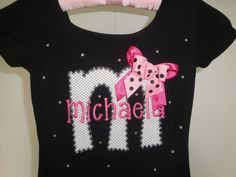 Personalized Danskin Leotard Custom Ballet Shoes Dance Gymnastics Leotard Name Initial on Etsy, $26.99