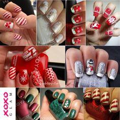 Christmas Nail Designs - 27 models