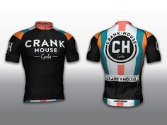 CRANK HOUSE Cycles Jersey