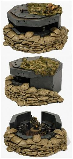 Bunker, Forge World, Imperial Guard, Pillbox, Terrain Terrain 40k, Warhammer Terrain, Game Terrain, Wargaming Terrain, 40k Imperial Guard, Warhammer 40k Miniatures, Military Diorama, Warhammer 40000, Tabletop Games