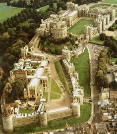 Windsor Castle is one of the largest castles in the world and the longest occupied one.