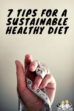 We all strive after having a sustainable healthy diet but weighing food and sticking to diets is hard. Here are 7 tips to make your diet more sustainable. Healthy Diet Tips, Healthy Lifestyle, Living A Healthy Life, How To Run Longer, Diets, Sustainability, Goal, Eating Healthy, Sustainable Development