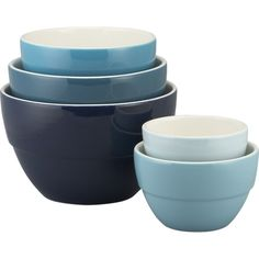 Market Bowl Set | Crate and Barrel