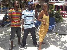 Yard From Abroad meets Bunny Black and Singy- Singy at Negril Beach!