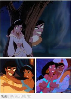 Funny pictures about What if Aladdin always looked like that? Oh, and cool pics about What if Aladdin always looked like that? Also, What if Aladdin always looked like that? Disney Pixar, Paused Disney Movies, Lego Disney Princess, Film Disney, Disney And Dreamworks, Disney Love, Disney Magic, Disney Stuff, Dark Disney