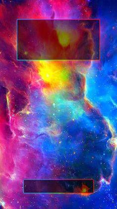↑↑TAP AND GET THE FREE APP! Lockscreens Art Creative Space Stars Multicolor Galaxy HD iPhone 6 Plus Lock Screen