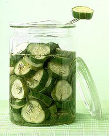 Easy Pickles: good way to use overflow of garden produce, zucchini, cucumbers, carrots                     Email            Save      Print                                     00      Email            Save      Print