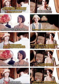 Mary and Edith getting along | Downton Abbey Season 6