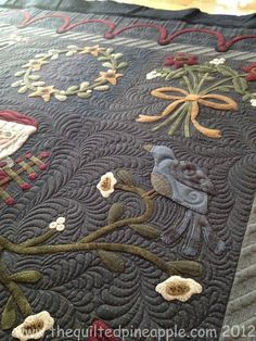 Wow, those bold stitches really define this quilt | Quilt Patterns ... : define quilted - Adamdwight.com