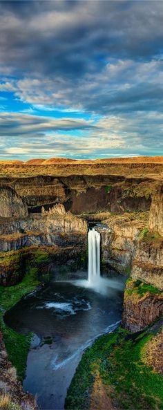 Palouse Falls in Franklin/Whitman Counties, Washington and 50+ Secret Places in America That Most Tourists Don't Know About