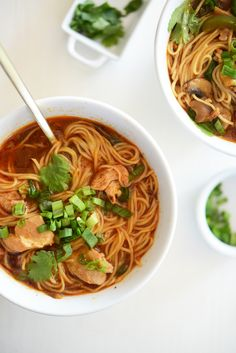 Spicy Thai chicken soup A New Way to Cook at Home