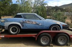 1975 Triumph TR7: Too Many Tickets - http://barnfinds.com/1975-triumph-tr7-too-many-tickets/