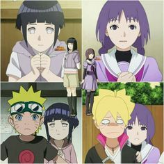 Comparison between Hinata and Sumire Kakei - The First Villain of Boruto-The Next Generation ♥ #Danzo #ANBU #Foundation #FanArt #Nue
