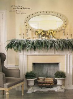 This mantle is to die for!