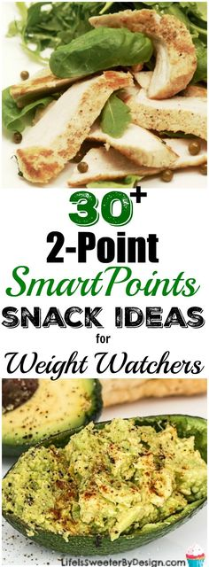 Huge list of 2 Point SmartPoints Snack Ideas for Weight Watchers will help keep you on track. These Weight Watchers snack ideas are perfect to keep binge eating at bay.
