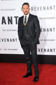 Tom Hardy - The Revenant premiere LA #suits