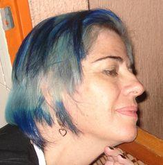 azul é demais de lindo... pena que não dure..