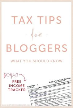 If you make money from your blog in any way, figure out if you should be filing for self-employment taxes. | 19 Ridiculously Useful Tips Every Blogger Should Know
