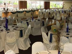 Modern Woodmen Park has a great banquet room on the suite level.