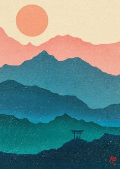 Meditating Samurai Art Print