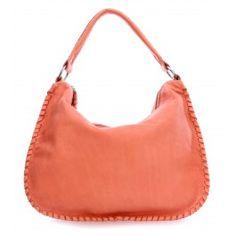 wardow.com - #bag #trend #red #fruits #color #AmsterdamCowboys Wild Spirit Orford Beuteltasche weiches Rindsleder koral