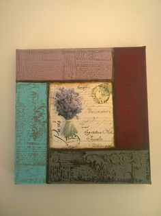 decoupage and stamps