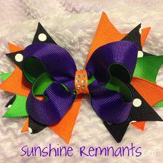 Halloween Bow-For Zoe's costume