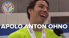 Apolo Ohno Talks About the Power of Sports https://www.youtube.com/watch?v=gV7lpenKFrM