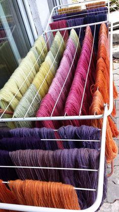 Blumenschaf: Neue Färbungen - Wolle pflanzengefärbt im Shop