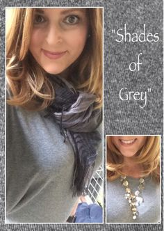 #grey #shadesofgrey #dolman #scarf #OOTD