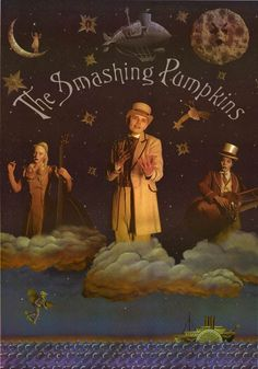 Smashing Pumpkins: Tonight, Tonight - totally had this poster on the wall of my teenage bedroom #90s