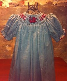 Carolina on King now has precious hand smocked Gamecocks children's wear, including bishop dresses, john johns, bubbles and button-downs! http://www.carolinaonking.com