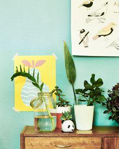 Pozwól dzieciom troszczyć się o duże i małe rośliny