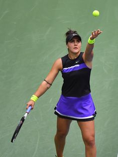Bianca Andreescu Sets Her Sights on Olympics Debut and Tennis Return at Miami Open After Injury Knee Injury, Olympics, Cheer Skirts, Miami, Tennis, Running, Sports, Fashion, Hs Sports