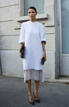 #Minimalism Paris Fashion Week #loveit