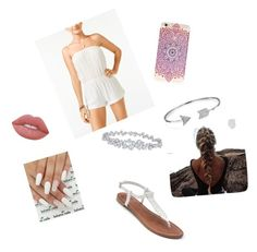 """""""Beach Day 🌴"""" by graciefaye92 on Polyvore featuring Volcom, Apt. 9, Bling Jewelry, Harry Winston and Lime Crime"""