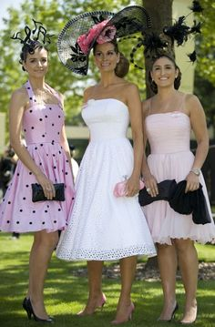 d6b124a6ba1e Isabell Kristensen (centre) with her daughters at Royal Ascot Ladies Day  Kentucky Derby