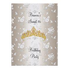 Sweet 16 Birthday party invitation 2